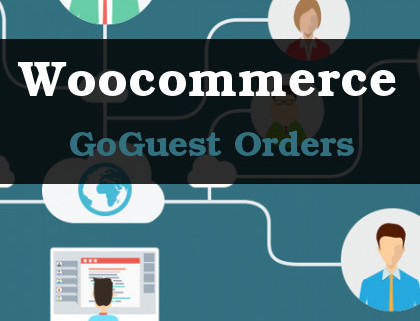 Woocommerce goguest orders