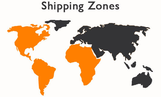 Create-shipping-zones